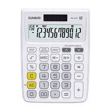 Casio Mj-12Vc-We Electronic Calculator Mj12Vc White