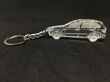 Keychain with ring for BMW X5 E70 2006- acrylic car keyring auto accessory