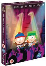 SOUTH PARK Complete Series 11 DVD All Episode Eleventh Season Original UK NEW R2