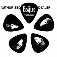 Meet the Beatles Guitar Picks 10 pack Medium 1CBK4-10B2 D'Addario Collector