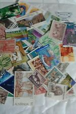Australia collection 75gm (++HV's) on/off paper stamps. Australian Kiloware Lots