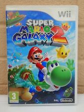 Nintendo Wii Super Mario Galaxy 2 Game With Manual