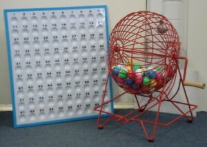 """15.5"""" Ping Pong Bingo Cage Set"""