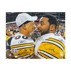 Jerome Bettis, Hines Ward Autographed Pittsburgh Steelers 16x20 Photo - JSA COA
