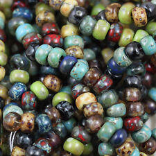 6/0 FOREST LAKE PICASSO MEGA MIX MIYUKI SEED BEADS - 30grams!!!