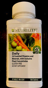 NUTRILITE Daily - 180 Tablets ***100% AUTHENTIC*** SEALED & NEW**