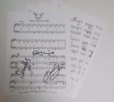"PAUL McCARTNEY & WINGS Signed Autograph ""Arrow Through Me"" Sheet Music by 3"