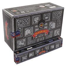Full Box Original Satya Super Hit Incense Sticks  Joss - Nag Champa - 12 Packs