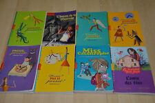 lot 8 livres Milan Poche Junior - Romans jeunesse