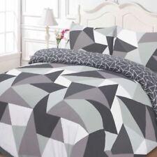 Linge de lit et ensembles blanc avec des motifs Géométrique polyester