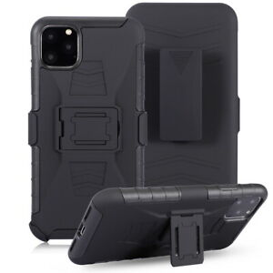 Phone Case For Apple iPhone 11 Pro Max 11 Armor Back Cover Stand With Belt Clip