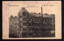 112457 AK Czestochowa Tschenstochau Dom W. Ksiecia 1915 Feldpost