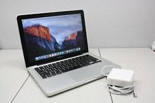 Apple MacBook Pro 13 2.5 GHz Intel Core i5 8GB 256 SSD A1278 2012 DVD LATEST OSX