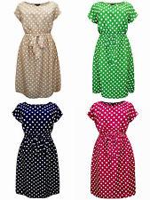 Plus Size Viscose Boat Neck Dresses for Women