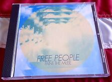 FREE PEOPLE - PAINT THE MUSE 3 Track DJ CD single