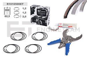 4x Segments Kit de Réparation Std VW Audi Skoda Seat 1,8 2,0 TSI TFSI Cdaa Ccrdc