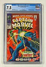 MARVEL SUPER HEROES #13 Marvel Comics 1968 CGC 7.5 Carol Danvers 1st Appearance