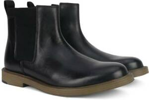 Clarks Men's Feren Top Black Leather Chelsea Ankle Boots UK Size 8G