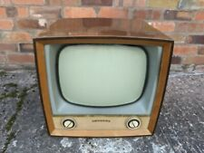 More details for vintage plessey television wooden case 1950's tv - untested - philips badged