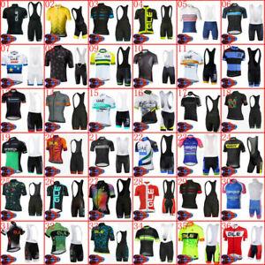Mountain Road Mens Cycling Jersey Bib Shorts Set Shirt Brace Tights Kit Clothing