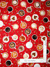 Perfect Blend Coffee Brewed Cup Red Cotton Fabric by Kanvas Studio By The Yard