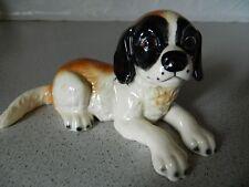 Beautiful Goebel St. Bernard Puppy Porcelain Figurine - Made in Germany