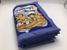 Cloth Fabric Childrens Book Completed Padded Treasure Bears