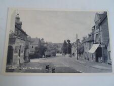CHARLBURY, Church Street+Bicycles+Bikes+Car Vintage Postcard  §A2826