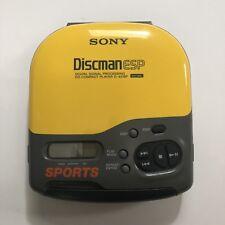 SONY Discman ESP D-421SP Sports Model Portable Cd Player Tested