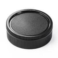 USA Body Cap+Rear lens caps for Leica R L/R R3,4,5,6,7,8,9/50mm Summicron/Elmari