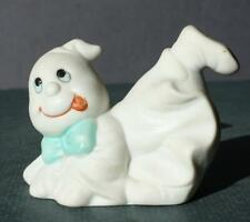 Ghost Figure Halloween Sticking Tongue Out Ceramic-Porcelain Hand Painted Taiwan