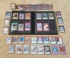 Yu Gi Oh Cards Bundle 500+ cards Inclding Holos & Folder