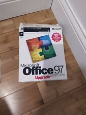 Microsoft Office 97 Upgrade, Standard Edition,  Retail Box