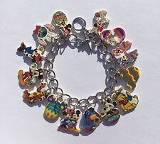 Mickey Mouse Bracelet Disney Easter Minnie Tigger  Eeyore Winnie Thumper Charm