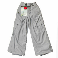 BONFIRE Horizon Childs Winter Ski Snow Trouser Nickel Grey Age 7-8 Size S NEW