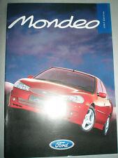 Ford Mondeo range brochure 1997 Edition Irish market