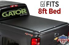 Gator Roll-Up fits 14-18 Chevy Silverado Sierra 8 FT Soft Roll Up Tonneau Cover