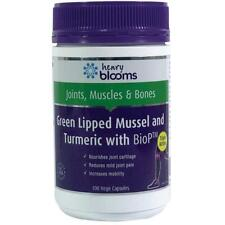 Blooms Green Lipped Mussel 500mg With Turmeric 1500mg 100 Vege Capsules