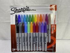 Sharpie Original Fine Point Set of 24 Permanent Markers - Ships Free