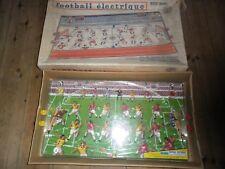 Football électrique de table France jouet flipper vintage en boîte