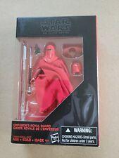 STAR WARS BLACK SERIES 3.75 EMPEROR'S ROYAL GUARD WALMART EXCLUSIVE