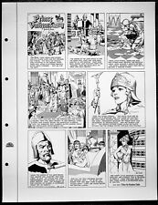 Hal Foster Prince Valiant Sunday #885 Black and White print Suitable for framing