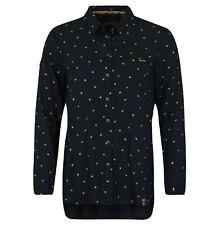 Superdry Women's Frankie Shirt Navy Gold Star XLarge NWT