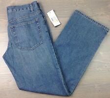 Kenneth Cole Jeans 33x32 Mens Nobb Classic Straight Light Wash Denim Blue NWT