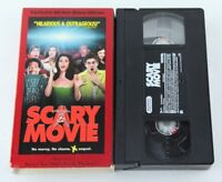 Scary Movie VHS Tape Video Anna Faris Carmen Electra Comedy