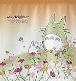 Japanese tapestry Noren short size 85 x 90 cm Cosmos flower and Totoro Ghibli
