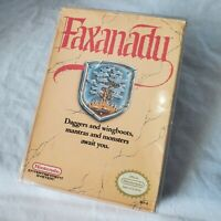 Faxanadu Nintendo NES Game, Box & Collectors Cover/Case