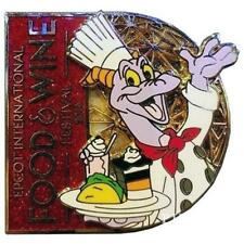 Wdw 2016 Figment Logo Food & Wine Festival 2016 Disney Pin 117704