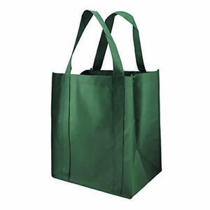 Reusable Reinforced Large Handle Tote Bag(10 Pack) Buy More Save More