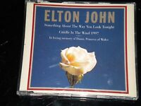 Elton John - Something About The Way You Look Tonight - CD - Lady Diana Tribute